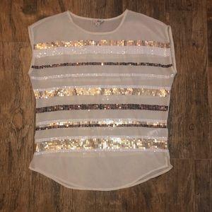 Sequin blouse